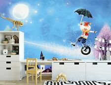 New Listing3D Circus Show Zhua8072 Wallpaper Wall Murals Removable Self-adhesive Amy