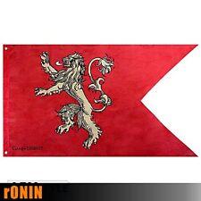 LANNISTER - Bandiera ORIGINALE GAME OF THRONES 120x70cm Banner Trono di Spade