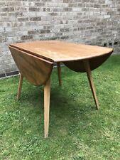 Vintage Ercol Windsor Drop Leaf Kitchen/Dining Table Elm