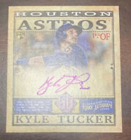 2019 Topps Gypsy Queen Mini Rookie Auto Autograph 09/ 99 KYLE TUCKER RC Centered