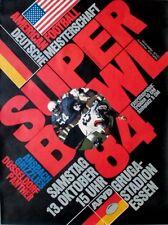 SUPER BOWL - 1984 - Plakat - American Football - Poster - Essen