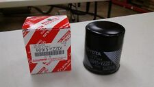 Five (5) 90915-Yzzd1 Genuine Toyota Oil Filters for Avalon and Camry