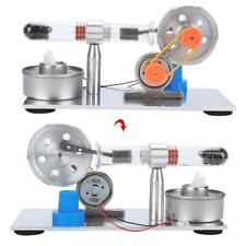 Mini Hot Air Stirling Engine Model Steam Heat Motor Model Mechanism Science Toy