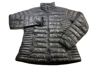 Patagonia Women's Down Sweater jacket 84683 Black Size Medium Puffer Goose