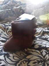 Gymboree Preppysaurus brown dinosaur boots new nwt boys size 3