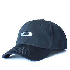 Oaklay Metal Gascan 2.0 Hat Mens Tek-Flex Stretch Fit Baseball Cap Casual S/M Bl