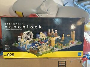 Nanoblock Mini Series by Kawada London Deluxe Deluxe Edition NB 029, SEALED!