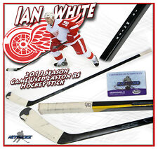 IAN WHITE Game Used Stick DETROIT RED WINGS EASTON RS w/COA