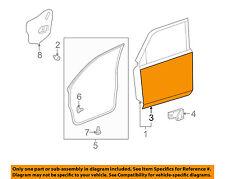 TOYOTA OEM 10-16 4Runner-Door Skin Outer Panel Right 6711135190
