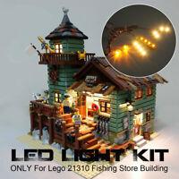 USB LED Licht Beleuchtung Set Für Lego 21310 Fishing Store Bausteine DI