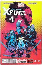 UNCANNY X-FORCE#1 VF/NM 2013 MARVEL COMICS