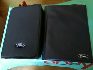 2 x FORD KA OWNERS HANDBOOKS/SERVICE BOOKS MANUALS ZIP WALLET DOCUMENTS HOLDERS