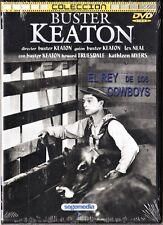Buster Keaton: EL REY DE LOS COWBOYS, EL ESPANTAPÁJAROS y CONVICTO 13.