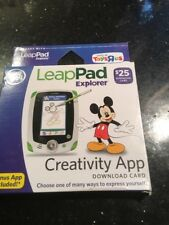 LeapFrog LeapPad Explorer Creativity App Download Card NEW SEALED BOX
