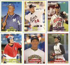 2016 Topps Heritage Minor League - Base Cards - Pick From Minors Card #'s 1-200