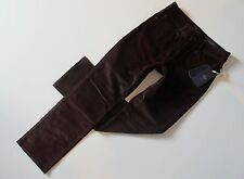 NWT Not Your Daughter's Jeans Marilyn Straight in Port Stretch Corduroy Pants 8P