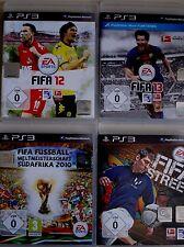4 Sony PS 3 Spiele, FIFA, 12, 13, Fifa Street, Weltmeisterschaft Südafrika 2010