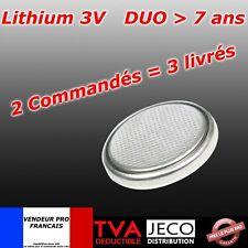 Pile bouton CR2025 CR 2025 Lithium PC calculatrice télécommande