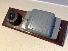 Vintage Electric Door Bell or Chime Transformer - V&E Plus Bakerlite Switch