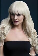 Fever Professional Wig Isabelle Blonde Straighten Wash Curl Fancy Dress New