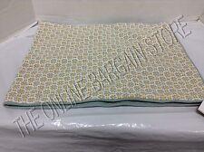 Pottery Barn Grant Foulard Floral Paris Lumbar Sofa Bed Pillow Cover Blue 14x36