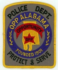 OPP POLICE ALABAMA AL COLORFUL PATCH SHERIFF GREAT TRADERS