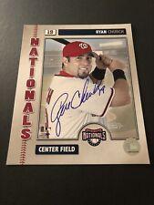 Ryan Church Signed Autographed 8x10 Photo Auto Washington Nationals Baseball COA