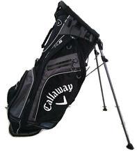 Nice Callaway Golf Hyper-Lite 5 Stand Bag Black Lightweight 5-Way Cadillac Logo