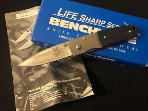 Benchmade Mel Pardue 330 Knife -Vtg Collection USA/mb