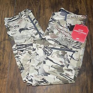 Under Armour Gore Windstopper Barren Camouflage Camo Men's Hunting Pants Size 40