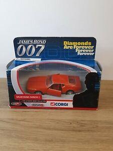 Corgi James Bond Mustang Mach I Diamonds Are Forever 40th Anniversary Edition