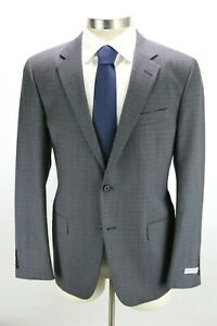 NWT $1595 Mens HICKEY FREEMAN Wool Suit 42 R Milburn II Grey Check Classic Fit