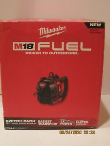"""MILWAUKEE 2775A-211 M18 FUEL SWITCH PACK 18V 5/16"""" Cordless Drain Cleaning NISB!"""