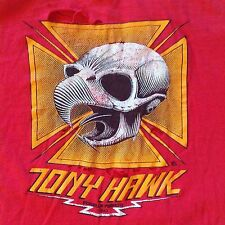 ORIGINAL 1983 TONY HAWK FACTORY 2nd T-SHIRT THRASHED Powell Peralta 80s vintage