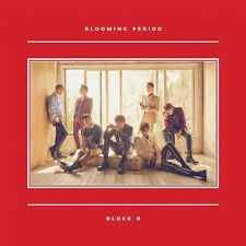 BLOCK B [BLOOMING PERIOD] 5th Mini Album CD+90p Photo Book+Card K-POP SEALED