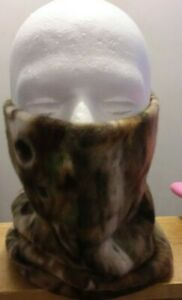 Special! CAMO FLEECE NECK WARMER GATOR GAITER SCARF TUBE MASK