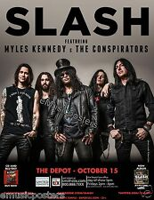 SLASH / MYLES KENNEDY & CONSPIRATORS 2015 SALT LAKE CONCERT POSTER-Guns N' Roses