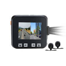 Motorcycle Mounted 0.3MP 30fps IP57 Dash Motorbike Camera Video Front&Rear Lens