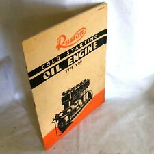 1930s vintage Ruston & Hornsby Oil Engine VQB Catalogue sales advertising
