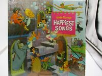 Walt Disney's Happiest Songs LP Vinyl 1967 Shrink  Gulf Oil DL-3509 VG+ c VG++