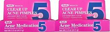 Rugby Acne Medication Benzoyl Peroxide Gel 5% 1.5 Ounce (Pack of 2)