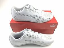 Puma BMW MMS Drift Cat 5 Ultra II 30642102 Mens White Athletic Racing Shoes 10