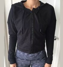 Lululemon Size 4 Next Move Jacket Black BLK Zip Up Hoodie Define Daily Coat NWT