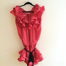 Lanvin for H&M Pink Ruffle Dress Sold Out 38