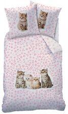 ropa de cama reversible gatos ropa de cama 135 x 200cm 100% Algodón