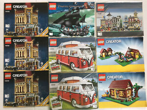Lot Of 10.11 Lbs Pounds Assorted LEGO Instruction Manuals Books  Free Shipp U.s.