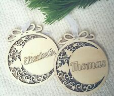 Anhänger personalisiert Weihnachten Weihnachtsbaum Christbaum Weihnachtsdeko