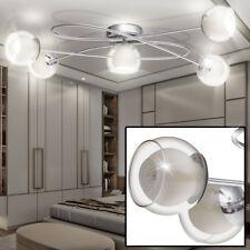 Design LED Decken Lampe Wohn Zimmer Strahler Beleuchtung Glas Kugel Spot  Leuchte