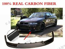 CARBON FIBER JUN FRONT LIP SPLITTER UNDER DIFFUSER FOR NISSAN R33 GTR