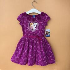 50%off Girl Kid's Frozen Elsa Anna SNOWFALL Dress SUMMER CASUAL Dress 2 4 6Year